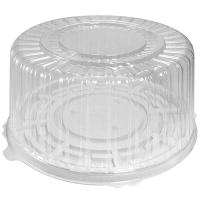 Купить упаковка кондитерская (тортница) н126хd270 мм на 1,5 кг круглая дно+крышка к 1/100 в Москве