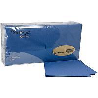 Купить салфетка бумажная синяя 33х33 см 2-слойные 250 шт/уп папирус 1/9 в Москве
