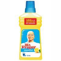 Купить средство моющее для полов 500мл универсальное mr.proper лимон p&g 1/20 в Москве