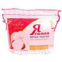 Купить палочки ватные 200 шт/уп я самая в мягкой упаковке kk 1/48 в Москве
