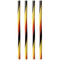 Купить соломка (трубочка) для коктейля н250хd8 мм 135 шт/уп pp черная/красная/желтая papstar 1/10 в Москве