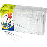 Купить пика декоративная призма/кристалл н90 мм 500 шт/уп для канапе пластик прозрачная пласт-лидер 1/35 в Москве