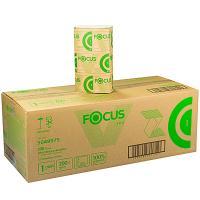 Купить полотенце бумажное листовое 1-сл 200 лист/уп*15 230х210 мм v-сложения focus eco белое hayat 1/1 в Москве