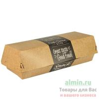 Упаковка для роллов ДхШхВ 210х75х62 мм с дизайном GOOD FOOD! прямоугольная ЭКО КАРТОН PAPSTAR 1/125/375