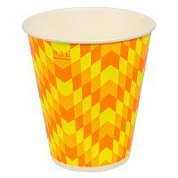 Купить стакан бумажный 300мл d90 мм 1-сл для холодных напитков зиг-заг v 1/50/800 в Москве
