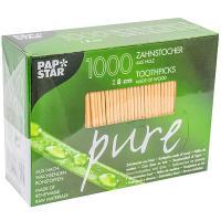 Купить зубочистки н80 мм 1000 шт/уп без индивидуальной упак дерево papstar 1/30 в Москве