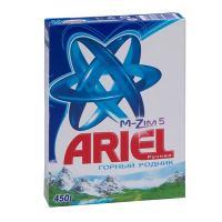 Купить порошок стиральный для ручной стирки 450г ariel p&g 1/20 в Москве