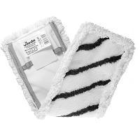 Купить насадка - моп (mop) для швабры ш 400 мм плоская с карманами и ушками комбиспид микроспид плюс бело-черная vileda 1/20 в Москве