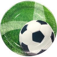 Купить тарелка бумажная d230 мм с дизайном футбол картон papstar 1/10/200 в Москве
