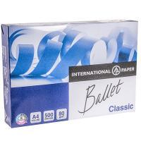 Купить бумага а4 500 лист/уп 80 г/м2 ballet classic белая international paper 1/5 в Москве