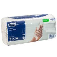 Купить полотенце бумажное листовое 2-сл 120 лист/уп 240х275 мм с-сложения tork h3 advanced (арт.471114) белое sca 1/20 в Москве