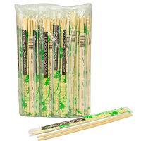Купить палочки для суши н230 мм 100 шт/уп в пленке + зубочистка в индивидуальной упак бамбук 1/30 в Москве