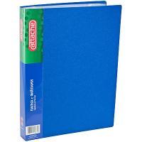 Купить папка файловая формат а4 на 60 карманов синяя 1/1 в Москве