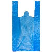 Купить пакет майка 240х440 мм 20 мкм суперпрочный эконом пнд синий 1/100/5000 в Москве