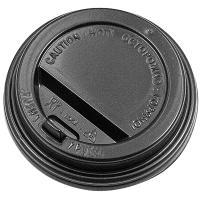 Купить крышка для стакана d90 мм с клапаном ps черная 1/100/1000 в Москве