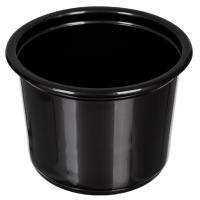 Купить контейнер 500мл н83хd115 мм без крышки круглый pp черный сп 1/50/500 в Москве