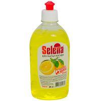 Купить средство моющее для посуды 500мл selena лимон gf 1/20 в Москве