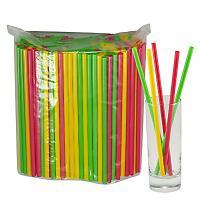Купить соломка (трубочка) для коктейля н210хd7 мм 250 шт/уп pp цветная 1/23 в Москве