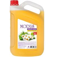 Купить мыло жидкое 5л прозрачное ромашка и луговые травы modus канистра аквалон 1/4 в Москве