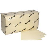 Купить салфетка бумажная шампань 33х33 см 2-слойные 250 шт/уп папирус 1/8 в Москве