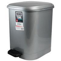 Купить контейнер мусорный прямоугольный 22л дхшхв 300х400х380 мм с педалью пластик темно-серый bora 1/4 в Москве