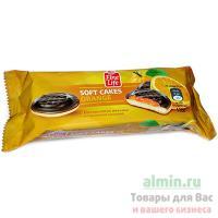Печенье бисквитное 135г FINE LIFE с апельсиновой начинкой 1/1