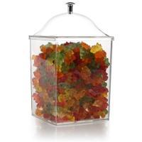 Купить куб гастрономический дхшхв 120х120х160 мм без крышки поликарбонат прозрачный bora 1/24 в Москве