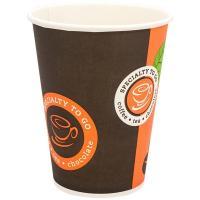 Купить стакан бумажный 300мл d90 мм 1-сл для горячих напитков coffe-to-go huhtamaki 1/50/1000 в Москве
