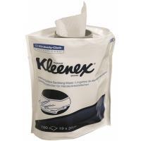 Купить салфетка влажная дезинфицирующая 100 шт/уп для диспенсера kleenex сменный блок kimberly-clark 1/6 в Москве