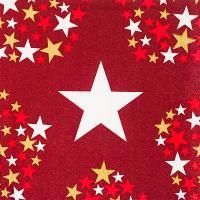 Купить салфетка бумажная 33х33 см 3-сл 20 шт/уп звездный свет papstar 1/15 в Москве