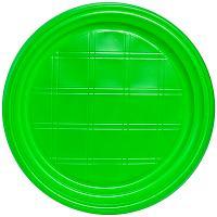 Купить тарелка d205 мм ps зеленая ипк 1/100/2000 в Москве