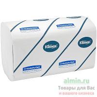 Купить полотенце бумажное листовое 3-сл 96 лист/уп 215х315 мм z-сложения kleenex белое kimberly-clark 1/30 в Москве