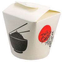 Купить контейнер бумажный china pack 750мл н95хd90 мм с декором рис/лапша 1/50/500 в Москве