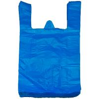 Купить пакет майка 300х600 мм 15 мкм пнд синий 1/100/2000 в Москве