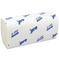 Купить полотенце бумажное листовое 1-сл 250 лист/уп 210х230 мм v-сложения белое protissue 1/20 в Москве