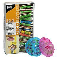 Купить пика декоративная зонтик н100 мм 144 шт/уп дерево papstar 1/12 в Москве