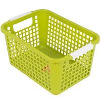 Купить корзинка дхшхв 225х170х125 мм пластик салатовая bora 1/48 в Москве