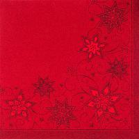 Купить салфетка бумажная 48х48 см 3-сл 50 шт/уп красная royal collection звезды papstar 1/5 в Москве