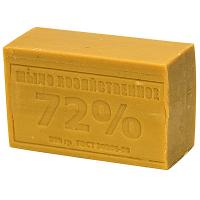Купить мыло хозяйственное 200г 72% без упаковки темное 1/60 в Москве