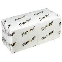 Купить салфетка бумажная белая 24х24 см 1-сл 400 шт/уп папирус 1/18 в Москве