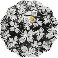 Купить салфетка сервировочная ажурная d360 мм 4 шт/уп декорированная papstar 1/25 в Москве