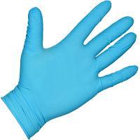 Купить перчатки одноразовые нитриловые xxl 100 шт/уп голубые 1/10 в Москве
