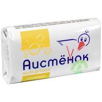 Купить мыло туалетное 70г 1 шт/уп детское аистенок молочные протеины аист 1/72 в Москве