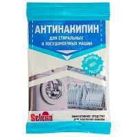 Купить средство для удаления накипи 100г для стиральных и п/м машин selena антинакипин порошок gf 1/24 в Москве
