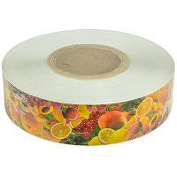 Купить лента для торта ш 50 мм 550 м/рул с декором фруктовый микс modecor 1/1 в Москве