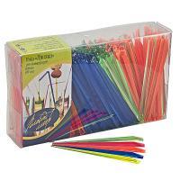 Купить пика декоративная призма/кристалл н90 мм 500 шт/уп для канапе пластик разноцветная пласт-лидер 1/35 в Москве