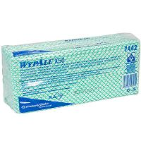Купить материал нетканый в листах 1-сл 50 шт дхш 420х250 мм wypall x50 зеленый kimberly-clark 1/6 в Москве