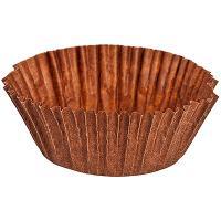 Купить капсула бумажная (тарталетка) круглая н26хd45 мм коричневая 1/2000/20000 в Москве