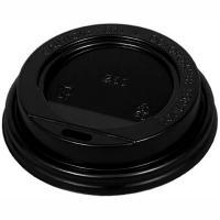 Купить крышка для стакана d80 мм с открытым питейником ps черная 1/100/1000 в Москве