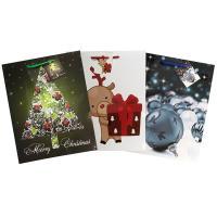 Купить пакет подарочный бумажный дхшхв 260х130х320 мм рождественский цвет в ассортименте papstar 1/10/50 в Москве